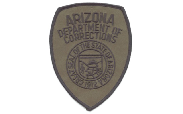 Arizona Department of Corrections Captain Coat Shoulder Patch