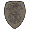 Arizona Department of Corrections Tactical Support Unit Shoulder Patch