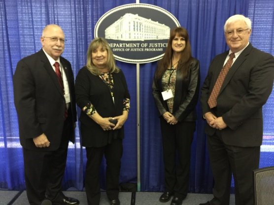 Director Charles Ryan and ADC team members accept DoJ Recidivism Reduction Award