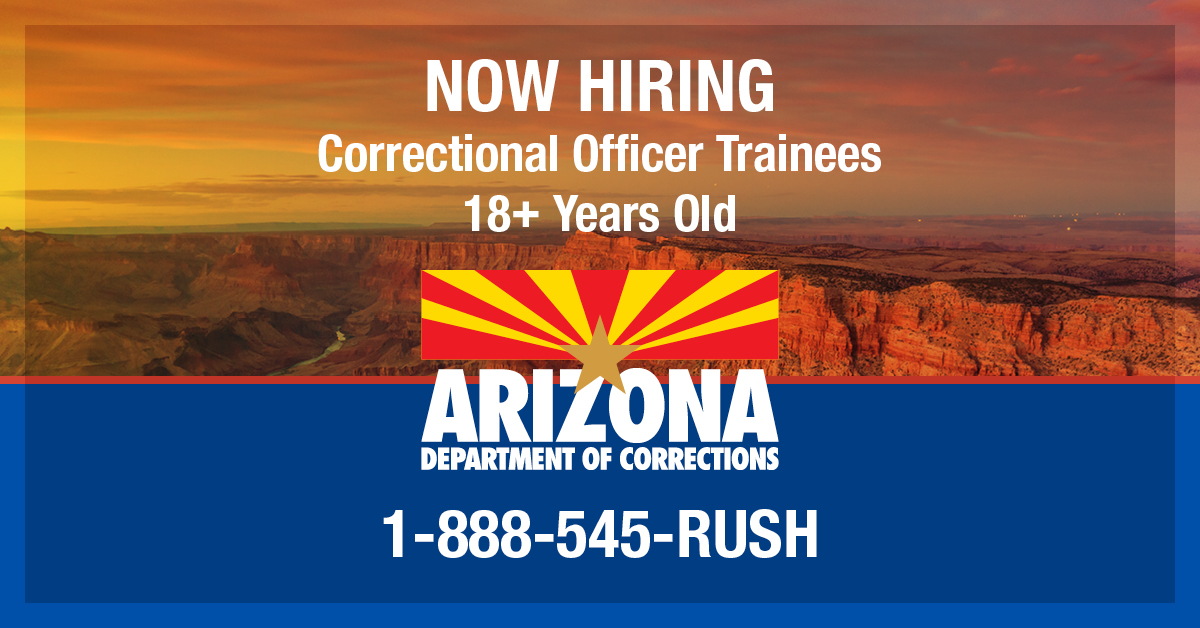 Correctional Officer Trainee Arizona Department Of Corrections