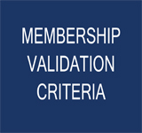Member Validation Criteria