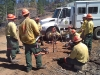 Inmates Work on Wildland Fire Crews