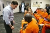 Governor Ducey meets with inmates at Second Chance Center