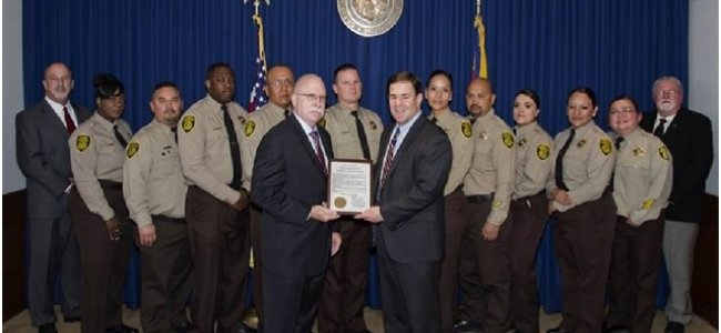 Doug Ducey Proclaims Correctional Officers Week